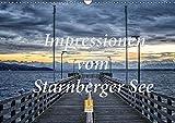 Impressionen vom Starnberger See (Wandkalender 2017 DIN A3 quer): Genießen Sie 12 emotionale Bilder, die den Starnberger See im Licht der ... (Monatskalender, 14 Seiten) (CALVENDO Natur)