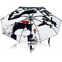 SSBY Black Sun rain or dual-use umbrella umbrella animation for men and women folding shade umbrellas