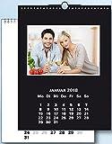 na-und Fotokalender 22x30 Bastelkalender DUO schwarz / weiss 2018