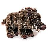 Uni-Toys Plüschtiere, Stofftiere, Kuscheltiere ca. 20 - 25 cm (Wildschwein, Braun)