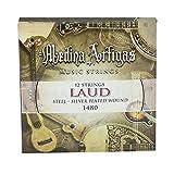 Ortola 6917--099 - Juego cuerdas laud acero 1480 medina artigas, color estándar
