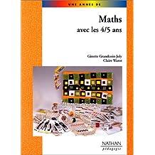 Maths avec les 4-5 ans