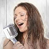 Pommeau de douche style rétro, microphone pour chanter sous la douche