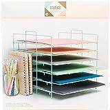 We R Memory Keepers Desktop Aufbewahrung Papier Rack, blau