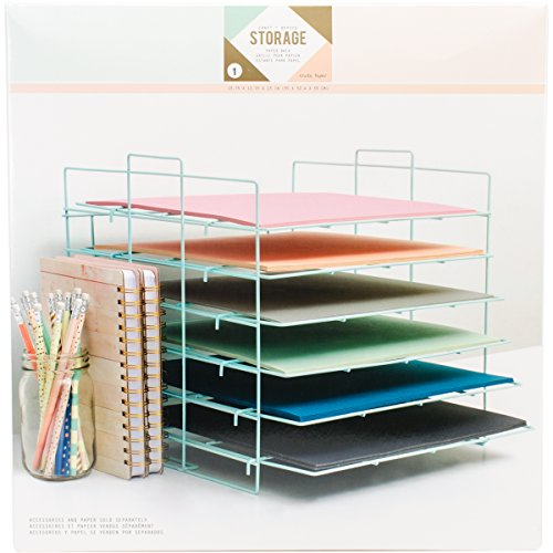 We R Memory Keepers Desktop Aufbewahrung Papier Rack, - Frame Wire Rack