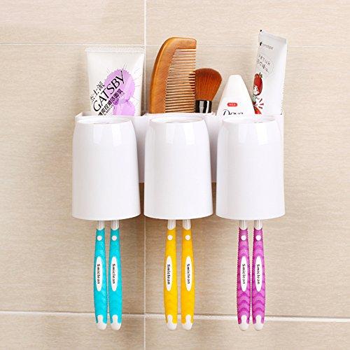 Sucker bagagli Rack Spazzolino da denti/