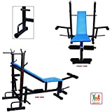 Bodyfit BF8IN1 8-in-1 Box Pack Blend Multi Bench for Home Gym