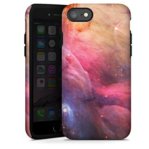 Apple iPhone X Silikon Hülle Case Schutzhülle Galaxy Space LL Ori und der Orion Nebel Tough Case glänzend