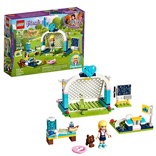 Lego Friends Fußballtraining mit Stephanie 41330 Building Set (119 Teile) (Friends-fußball-set Lego)