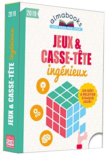 Almabook Jeux et casse-tête ingénieux 2019 par Sandra Lebrun et Loïc Audrain
