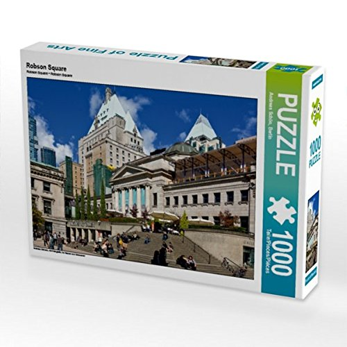 Robson Square 1000 Teile Puzzle quer