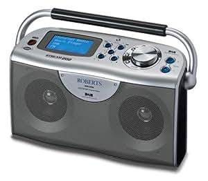 Roberts Stream202 WM202S DAB/WIFI Internet Radio - Silver