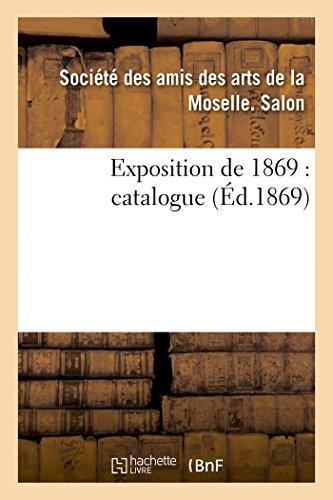 Exposition de 1869 : catalogue