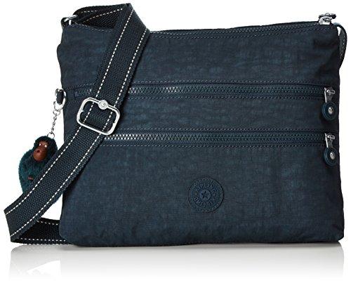 Kipling Alvar, Women's Cross-Body Bag, Grün (Deep Emerald C), 33x26x4.5 cm (B x H T)