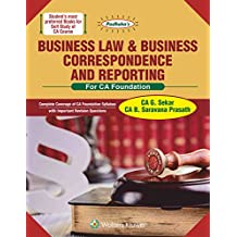 Padhuka's Business Law & Business Correspondence and Reporting: For CA Foundation