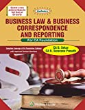 #6: Padhuka's Business Law & Business Correspondence and Reporting: For CA Foundation