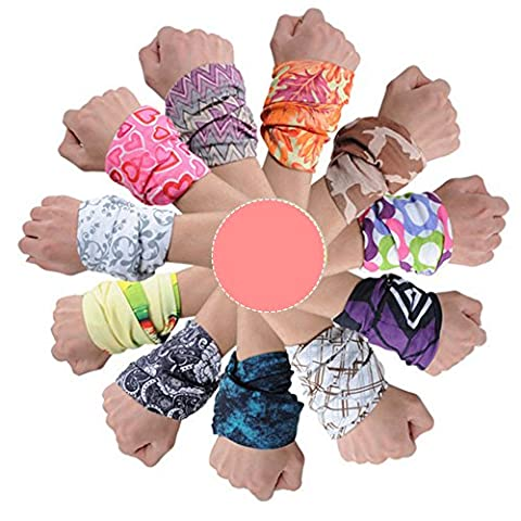 Ezyoutdoor Pack of 5 Pieces Multifunctional Outdoor Magic Headband Elastic