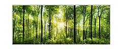Idea Regalo - STYLER ex121quadro in vetro, vetro, verde, 0.4x 125x 50cm