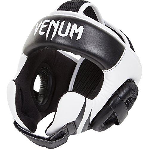 Venum Challenger 2.0, Caschetto MMA Unisex, Nero/Bianco, Taglia Unica