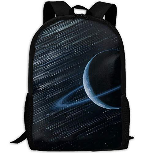 Saturn Planet Rings Erwachsenen Reise Rucksack Schule Casual Daypack Oxford Outdoor Laptop Tasche College Computer Umhängetaschen