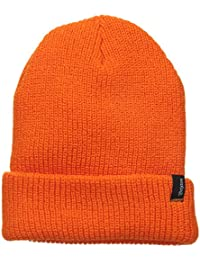 Brixton Beanie Heist - Gorro de esquí para hombre, color naranja, talla Talla única