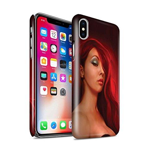Officiel Elena Dudina Coque / Clipser Brillant Etui pour Apple iPhone X/10 / Notre Dame Design / Caractère Conte Fées Collection Jessica