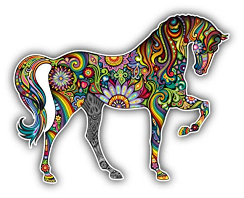 autocollant-sticker-voiture-moto-macbook-deco-cheval-fleur-couleur-animal-frigo