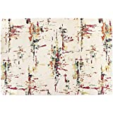 Alfombra design sitap – Made in EU – Dibujo abstracto moderno Capri 32257 – 6369, multicolor, Cm.160x230