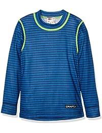 Craft Niños Mix und Match LS Junior P Ropa Interior, Infantil, Ropa Interior, Unterwäsche Mix und Match LS Junior P, Stripe Deep, 110/116