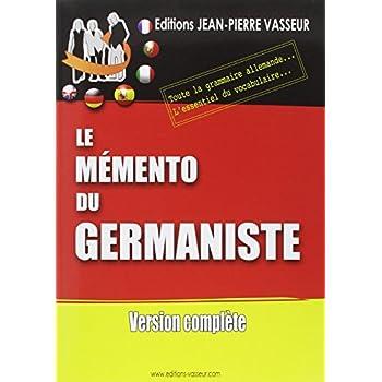 Mémento du germaniste