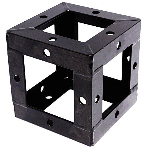 150 millimetri in alluminio quadrato Truss union cubo nero