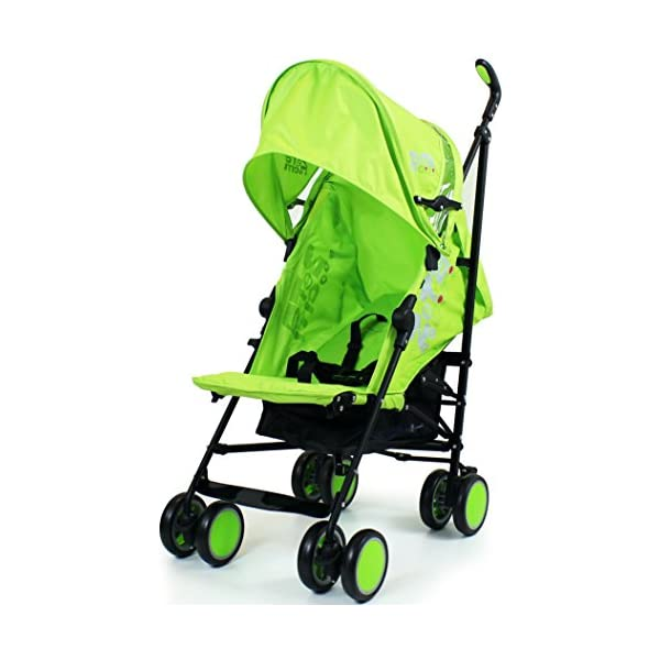 Zeta Citi Stroller Buggy Pushchair - Lime ZETA 12 Month FREE Warranty When Purchased and used from birth only. Warranty VOID If Purchased And Used For Babys Over 12 Months Lightweight stroller suitable for babies from Birth Umbrella fold for a compact folded size 3