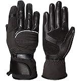 Max5in pelle impermeabile guanti termici invernali da moto