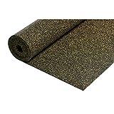 acerto 30001 Isolamento acustico da calpestio in gomma sughero 10,5m² / 3mm * Estremamente resistente * Miglioramento: 21 dBA * Isolamento termico | Isolamento acustico come