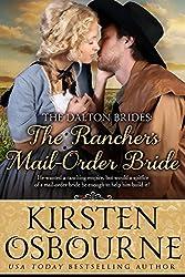 The Rancher's Mail Order Bride (The Dalton Brides Book 1) (English Edition)