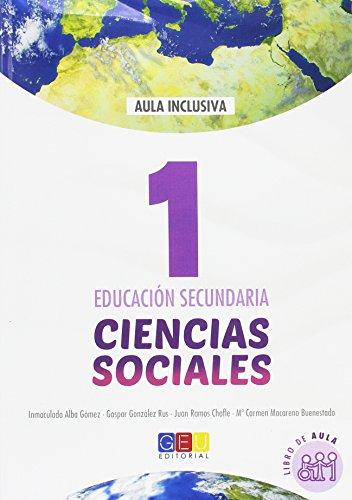 Ciencias Sociales 1 Educación Secundaria Libro de aula - 9788416729098