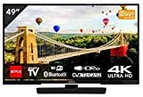 Hitachi 49HK6002 - Televisor 49' (125 cm) 4K Smart TV Ultra HD, Bluetooth, WiFi, sintonizador...