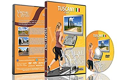 Virtual Walks - Tuscany Italy for Indoor Walking, Treadmill and Cycling Workouts from The Ambient Collection
