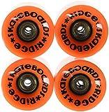 Best Cruising Skateboards - Ridge Skateboards Cruiser Skateboard Wheels - Orange, 59 Review