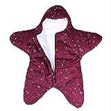 Newborn Seestern Schlafsack Baumwolle Herbst und Winter tragbar gewickelt Decke Trikot Baby 0-12 Monate