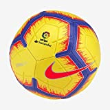 Nike Ll Nk Strk-fa18 Balón de fútbol, Unisex Adulto, Amarillo (Yellow/Purple/Flash Crimson), 4