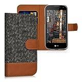 kwmobile Hülle für LG K3 LTE (2016) - Wallet Case Handy