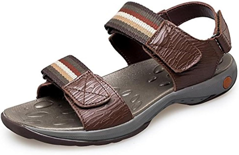 SHANGXIAN Fondo piatto in pelle uomo vestito sandalo (due generi di tees) | Del Nuovo Di Stile  | Uomini/Donna Scarpa
