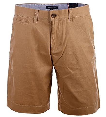 Tommy Hilfiger Herren Chino Shorts kurze Hose Bermuda 9 Inch khaki Größe 32