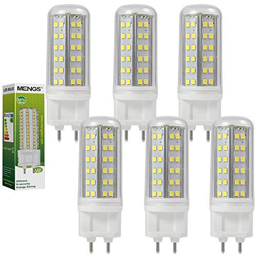 MENGS 6 pezzi Lampadine a LED G9 10W Equivalente a 80W, Lampada a LED AC 85-265V, Blanco Freddo 6000K, 1000lm, [Clase de eficiencia energética A]