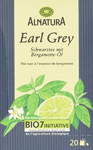 Alnatura Bio Earl Grey Tee, 20 Beutel, 35 g