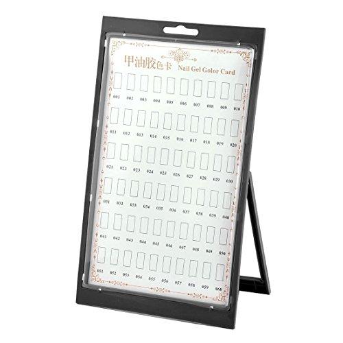 sourcingmap® Chambres ongles plastique Couleur Gel Ongles nuancier carte affichage