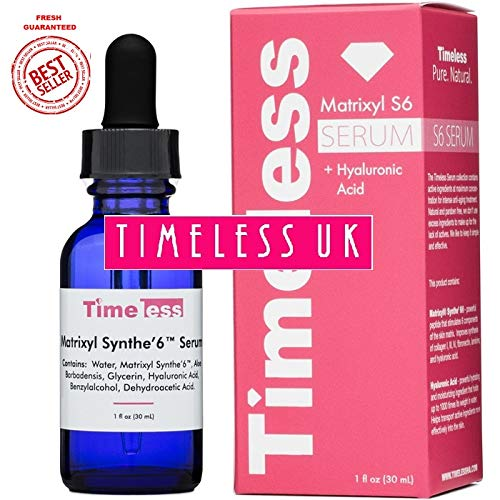 Timeless Skin Care Matrixyl Synthe'6 Serum - 30ml - From Timeless-UK the Primary Authorised distributor of Timeless Skin Care Range in UK &...