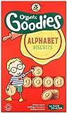 Organix Goodies Organic Alphabet Biscuits Bags (Pack of 3, Total 15)