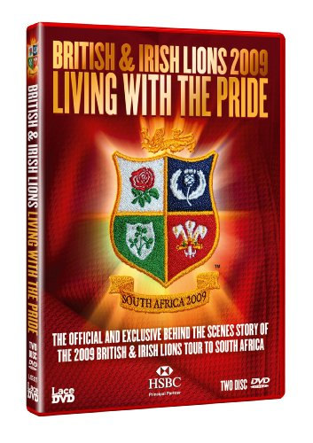 British and Irish Lions 2009  Living With The Pride  South Africa 2009  DVD